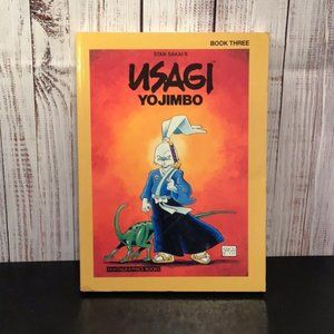 Signed Usagi Yojimbo Book Three Graphic Novel
